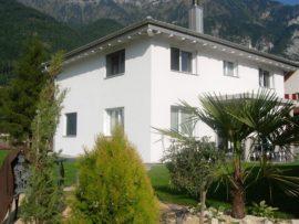 Gartenumgebung Neubau Einfamilienhaus